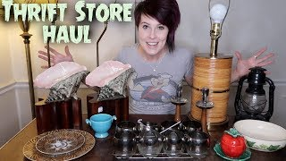 Thrift Store Vintage Haul | Mid Century Modern & Fiestaware