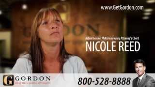 Baton Rouge Car Accident | Actual Client Testimonial - Nicole Reed | Gordon McKernan