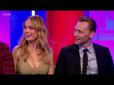 The One Show  Tom Hiddleston, Brie Larson, Samuel L Jackson  About Marvel