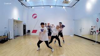 【口袋舞蹈】 韩国男团VICTON帅气舞蹈《不像话》练习室镜面版