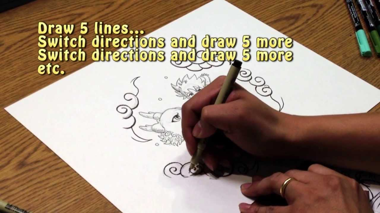 Tips for Manga & Comic Illustration Pt. 1: Inking & Cross-hatching
