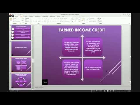 US Personal Income Tax - Intermediate Series - Lesson 1 Basic Credits