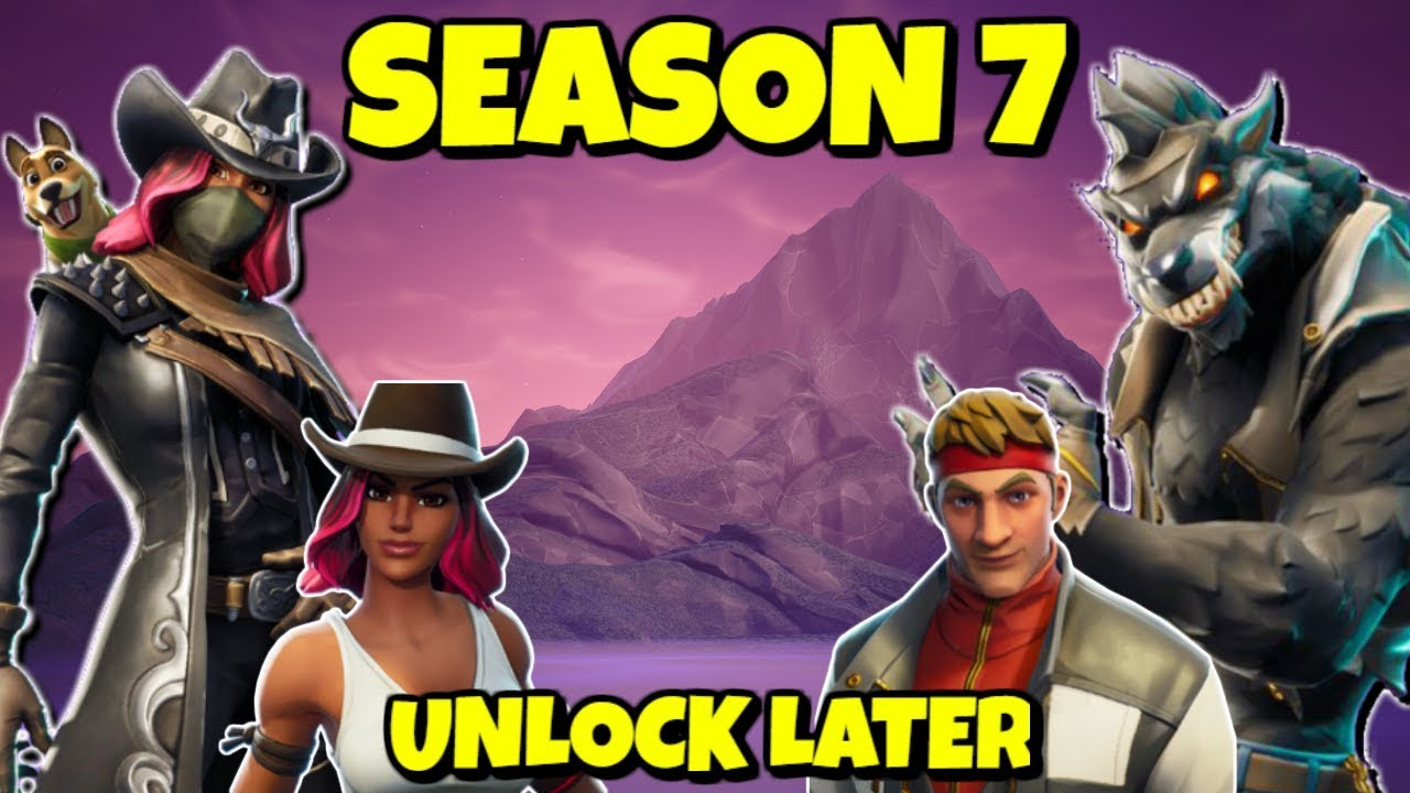 Unlock Calamity And Dire Skin Outfits In Season 7 Fortnite Youtube