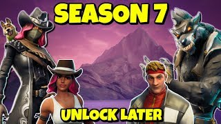 UNLOCK CALAMITY AND DIRE SKIN OUTFITS IN SEASON 7 FORTNITE