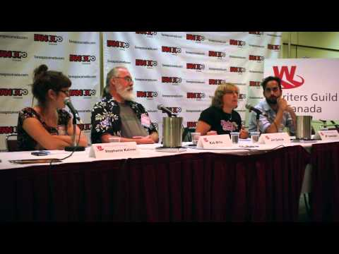 How to Monetize a Web Series: Writers Guild of Canada at Fan Expo