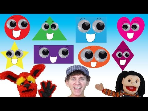 What Shape Is It? Song | Learn 8 Shapes with Lyrics | Learn English Kids