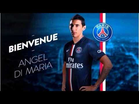 Angel Di Maria Joins PSG FOR 63M Euros from Man utd