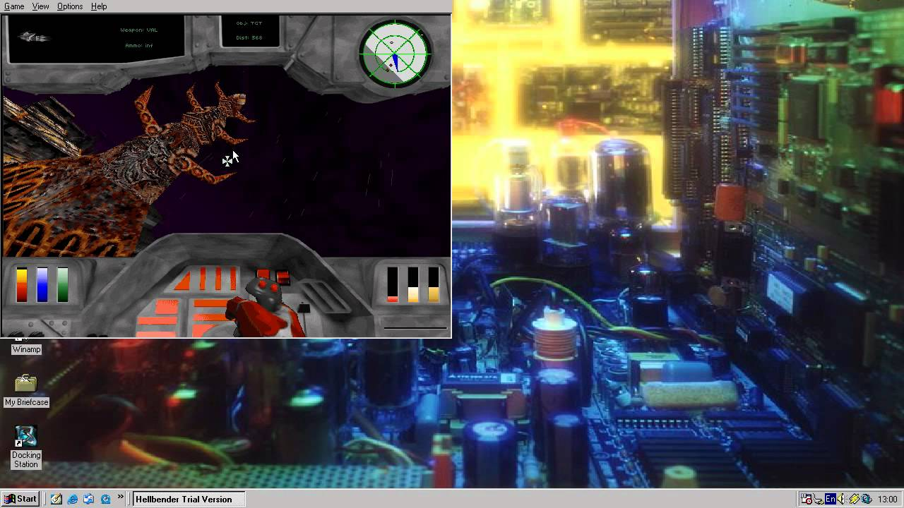 Let's Play: The Demos of Hellbender and Microsoft Return of Arcade