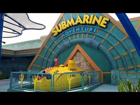 Submarine Adventure, Legoland Dubai Full Ride POV, Adventure Land, Dubai Parks & Resorts Atlantis