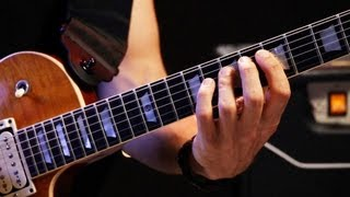 How to Play the Minor Pentatonic Scale   Heavy Metal Guitar