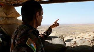 كاميرا أخبار الآن ترصد إستعدادت البيشمركة لمعركة تحرير الموصل