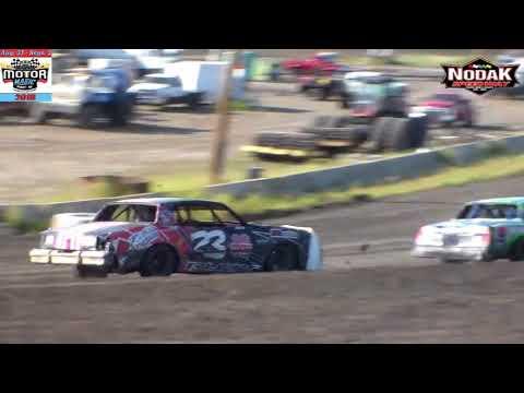 Nodak Speedway IMCA Hobby Stock Heats (Motor Magic Night #2) (9/2/18)