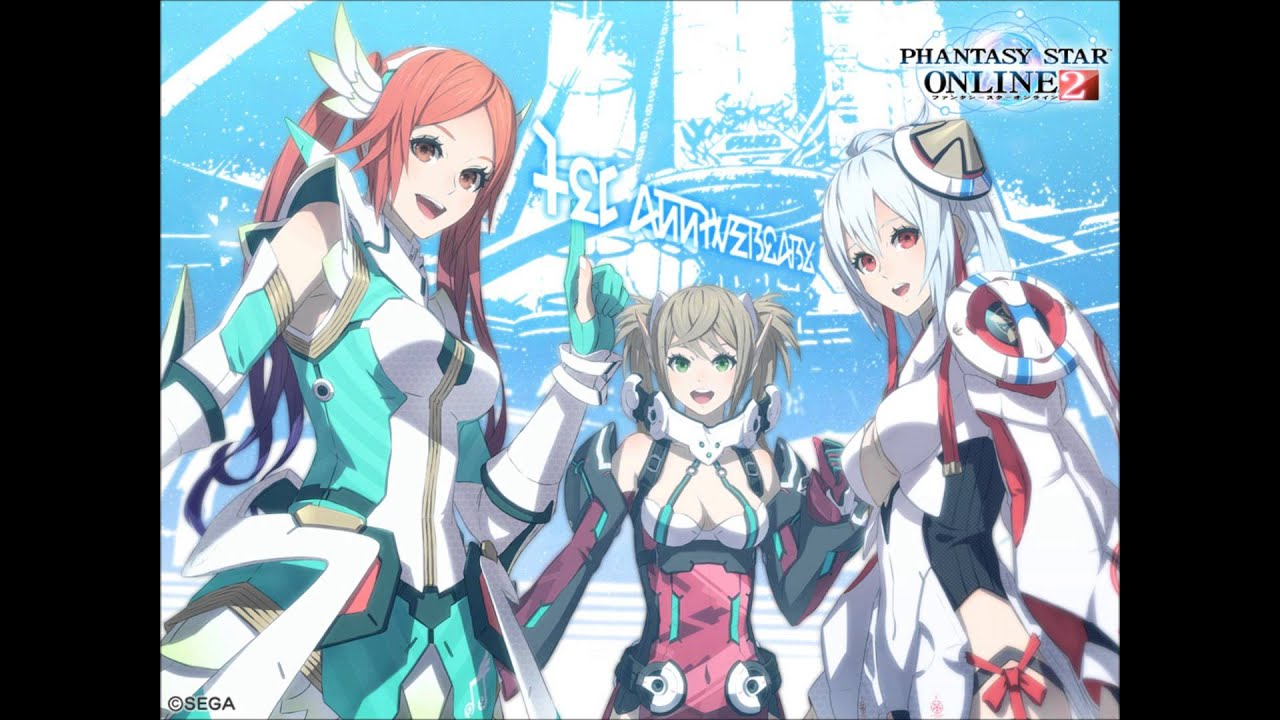 phantasy star online 2 wallpaper