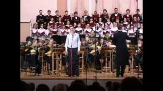 Катюша Хор Гнесинка Оркестр русских инструментов Katusha(Катюша. Прекрасно исполняет песню