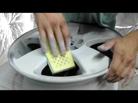 Как подготовить диски к покраске в домашних условиях