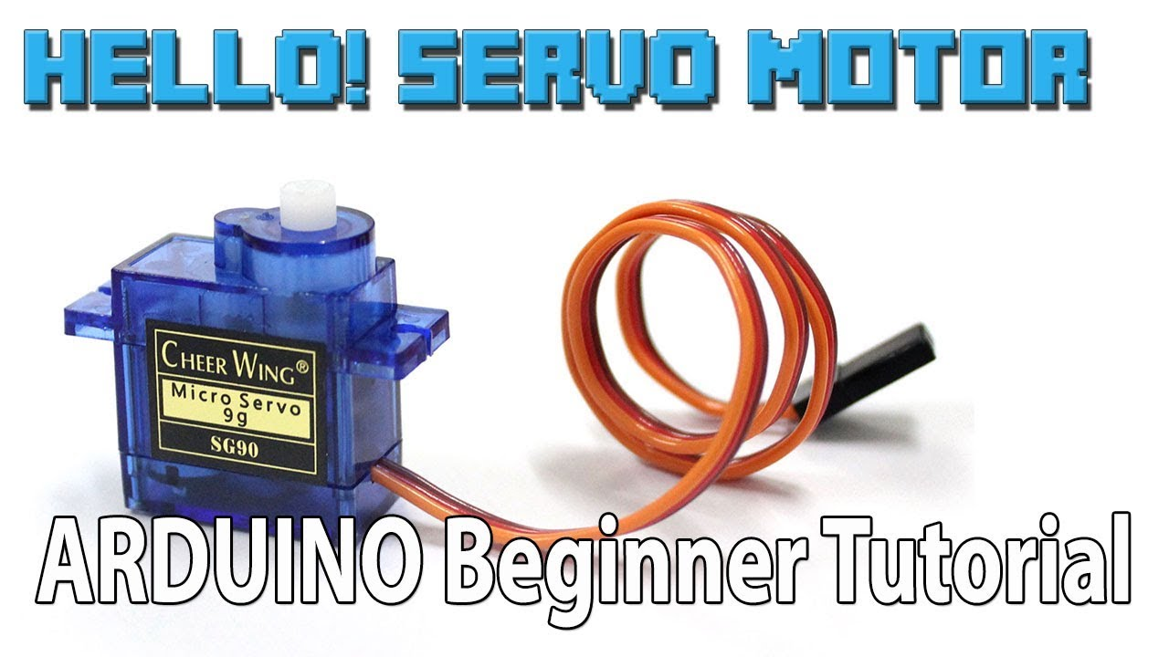 Servo Motor Arduino For Beginner Tutorial Youtube Dc Control Basics Working Of