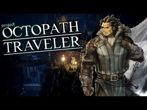 Project Octopath Traveler Demo - Olberic (Knight) Longplay