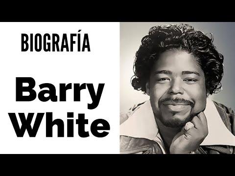 Biografía Barry White.