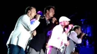 Backstreet Boys em São Paulo - All I Have to Give + I'll Never Break Your Heart 05.03.09