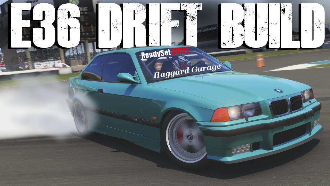 1997 Bmw E36 M3 Haggard Garage Drift Build Forza 6 Youtube