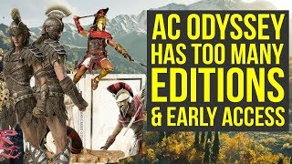 Assassin's Creed Odyssey Editions Breakdown + How To Get EARLY ACCESS (AC Odyssey Editions)