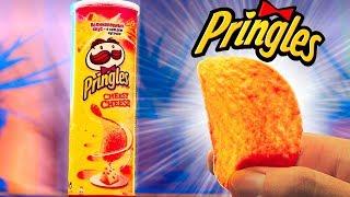 ПОВТОРИЛИ 3 ВКУСНЯШКИ ИЗ СУПЕРМАРКЕТА / ЧИПСЫ Pringles  / КОНФЕТЫ Ferrero Rocher /  МИШКИ Haribo