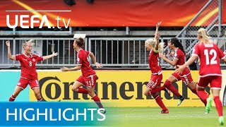 Women's EURO highlights: Denmark shock Germany