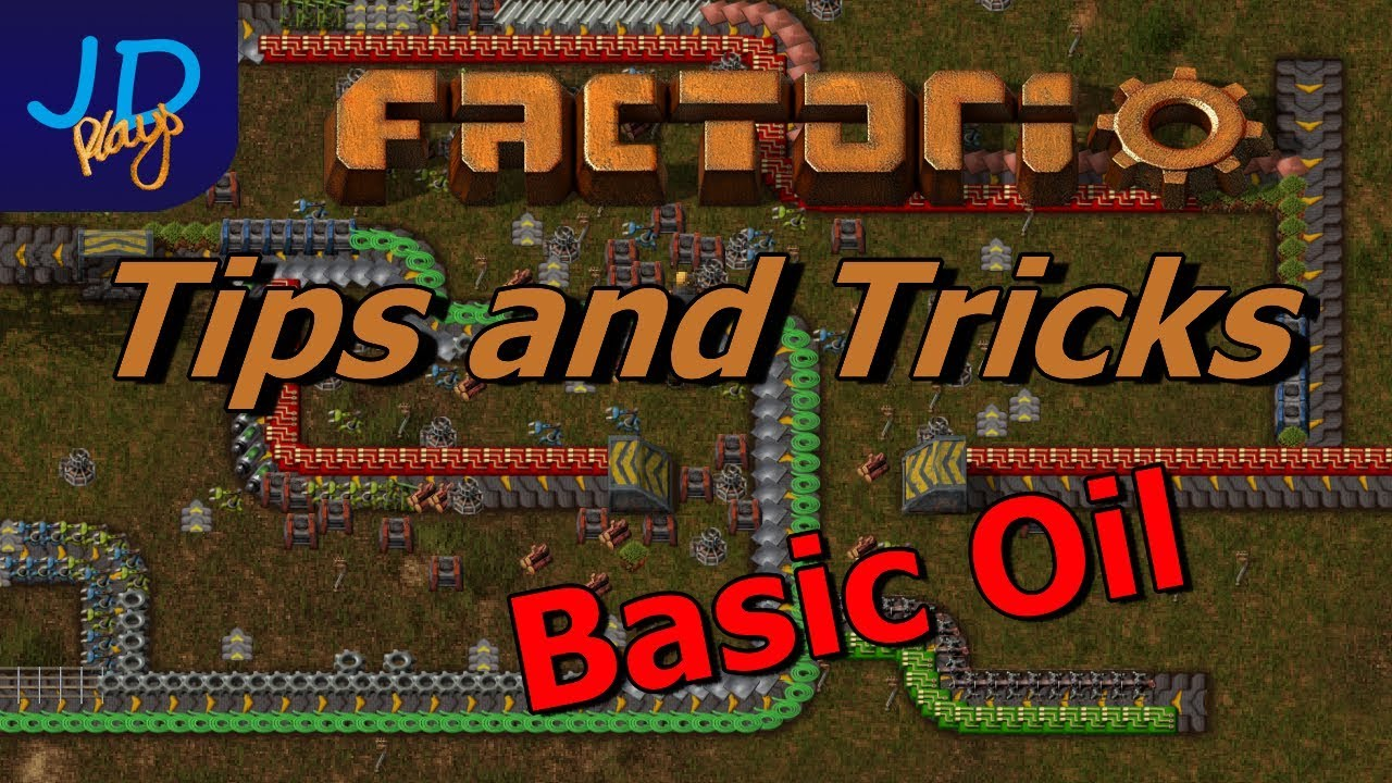 Basic Oil: Oil Tutorial 1 of 4 - Factorio Tips and Tricks in 10 minutes
