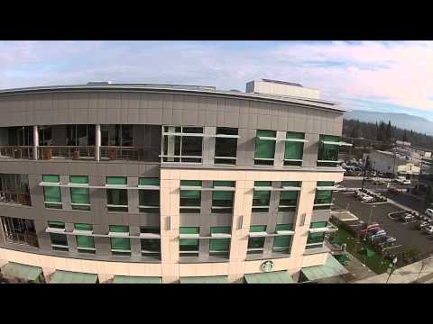 Drone Footage Lithia Motors Hq The Commons In Downtown