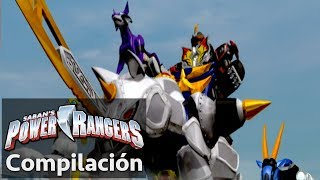 Power Rangers en Español | Peleas de Zord: Power Rangers Jungle Fury