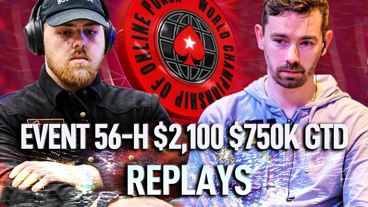 WCOOP 2020 56-H $2,100 ludovi333 | WhaTisL0v3 | IgorKarkarof Final Table Poker Replays
