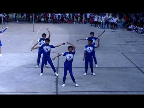 CHST 2016 Cheer Dance Azure BLUE team.