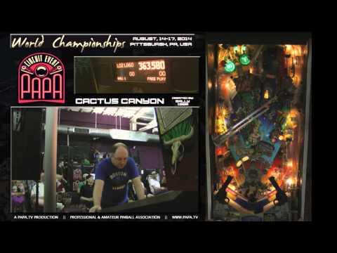 PAPA 17 World Pinball Championships Final Rounds