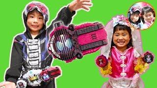 新しいライドウォッチを5つ紹介❤ディケイドライドウォッチも開封! 収納ケース 凱武 響鬼 ドライブ ダブル 仮面ライダージオウ わくわくママ
