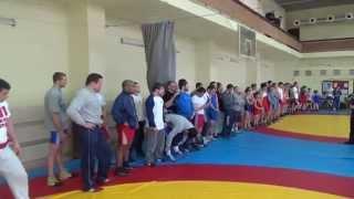 Открытая тренировка сборной Украины по греко-римской борьбе