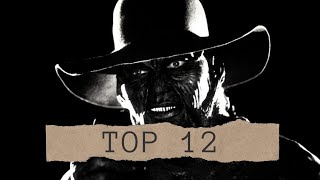 Personajes de terror y suspenso en la vida real -  Actors behind makeup - Top 12
