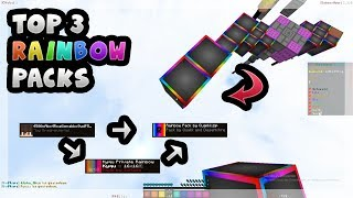 TOP 3 RAINBOW BEDWARSPACKS! | FPS BOOST +100% | zHxpee