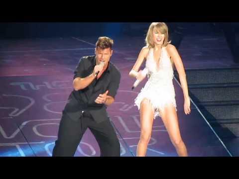 Taylor Swift y Ricky Martin