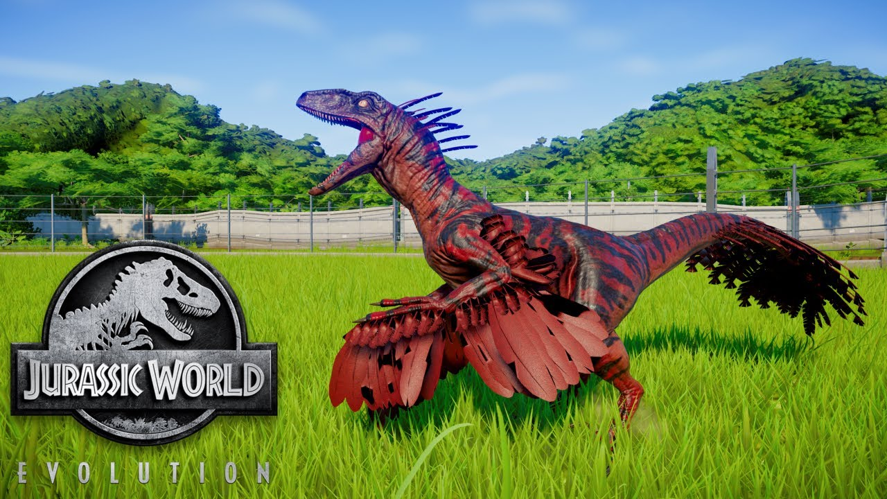 Pyroraptor Jurassic World Jurassic Park Game Jurassic World
