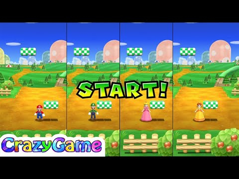 Mario Party 9 All Minigame (Free for All, Bowser Jr, 1 vs. Rivals)