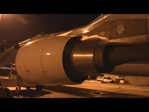 Amazing Turkish Airlines A330 Night Takeoff Istanbul
