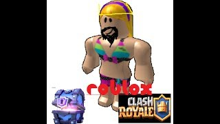 CLASH ROYALE IN ROBLOX???? - Clash Royale Roblox Tycoon