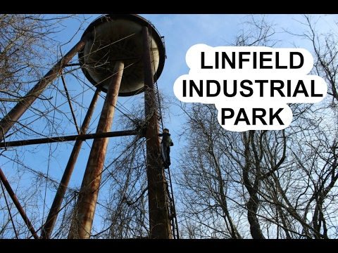 Exploring ABANDONED Linfield Industrial Park (Climbed Water Tower)