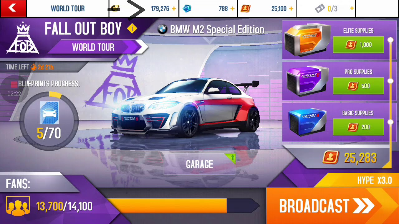 Opening 40 Elite Supplies For The Bmw M2 Special Edition Asphalt 8 Youtube