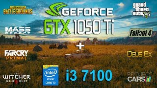 i3 7100 в паре с Gtx 1050ti