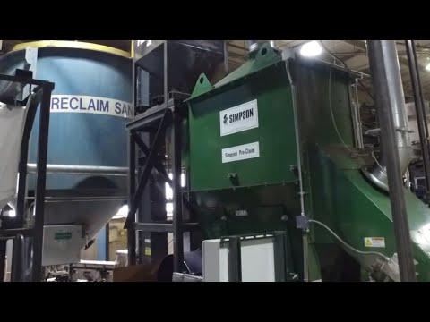 Simpson Sand Reclamation Test Program