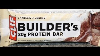 Clif Builders Vanilla Almond Protein Bar Review