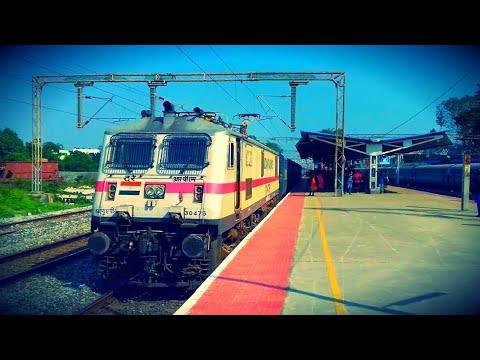 SuperFast Express trains on Chennai - Bangalore High Speed rail route!||Indian Railways!