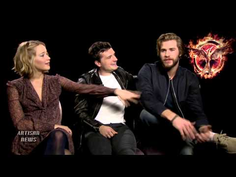 HUNGER GAMES CASTMATES ON THE HANGING TREE, JENNIFER LAWRENCE THE SINGER, SONG TO BILLBOARD HOT 100