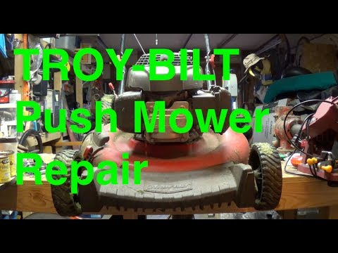 Troy-Bilt Mower Repair with Honda engine